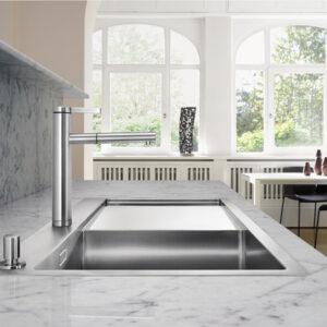 Bänkskivor och Stänkskydd Kök Marmor Bianco Carrara