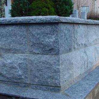 Murbeklädnad Granit Grå