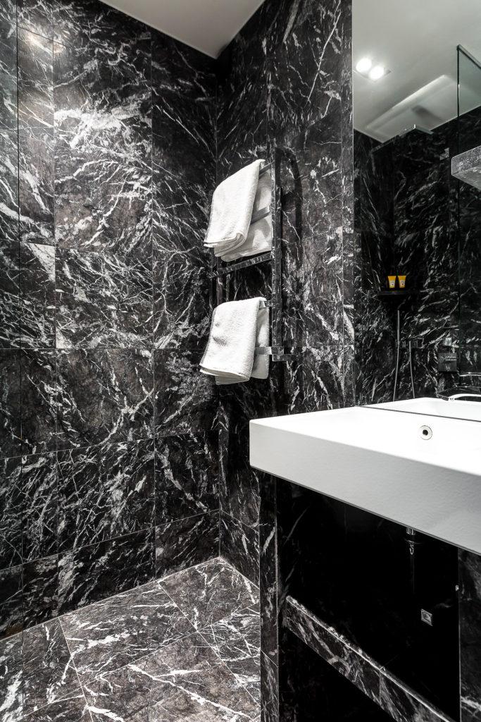 Badrum Golv- och väggplattor Marmor Grigio Carnico