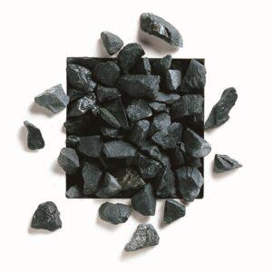 Dekorsten, svart marmorkross Nero Ebano